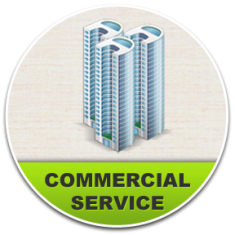 we provide professional commercial services