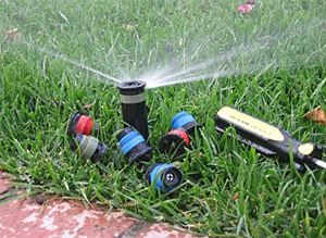 a few sprinkler part that our Baytown irrigation repair techs use on a daily basis